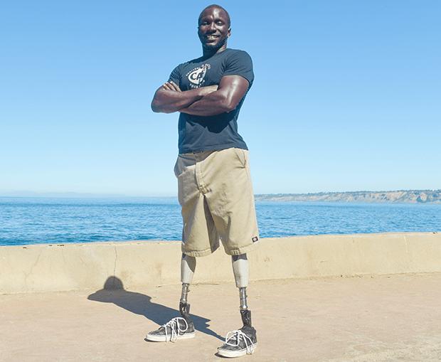 Roderick Sewell, el primer triatleta amputado en hacer historia
