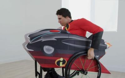 Disney lanza una colección de disfraces adaptados para personas que usan silla de ruedas